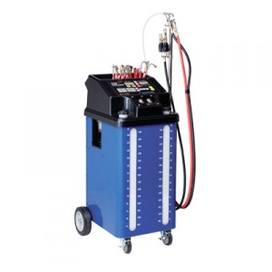 Multi-Mode Transmission Fluid Exchanger, Dual Tank